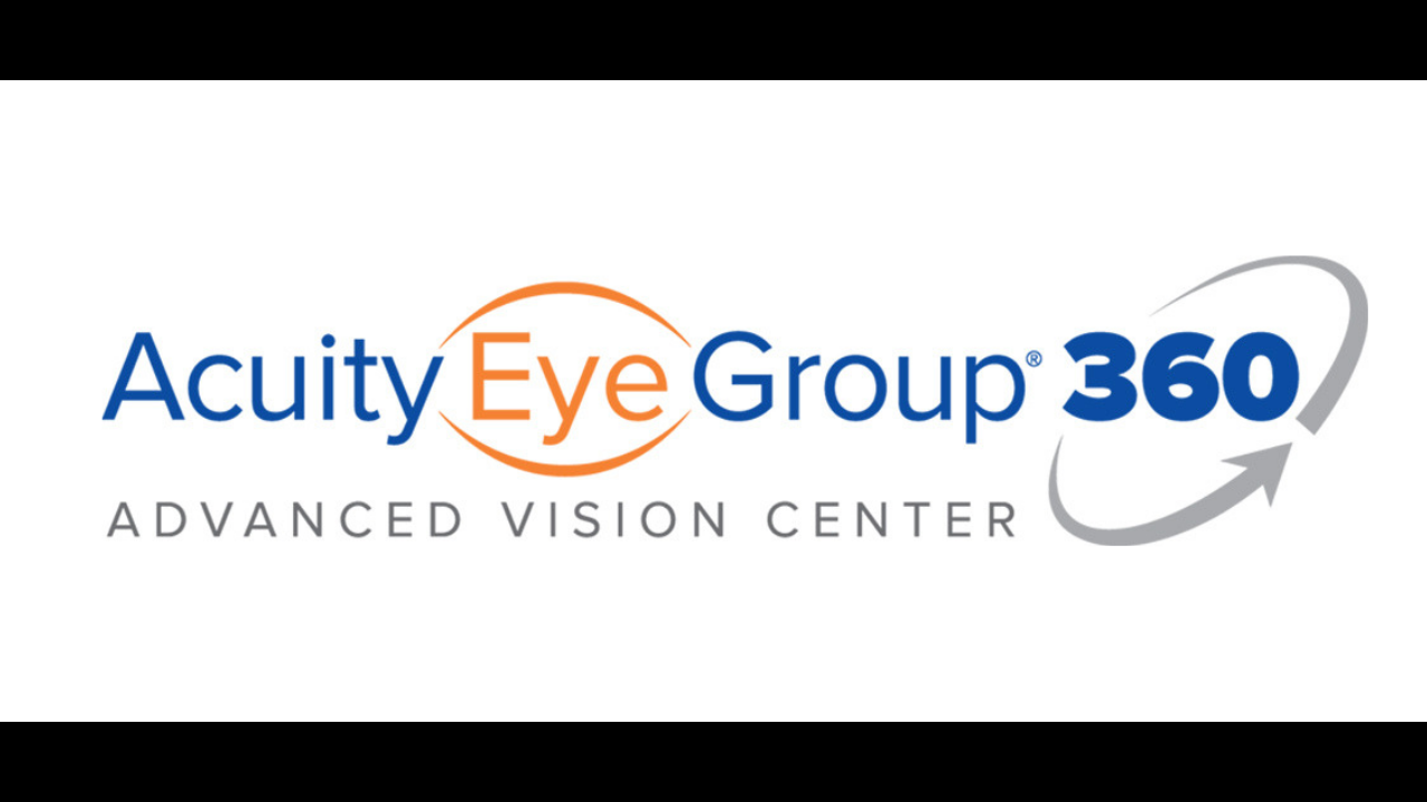 acuity 360 advanced vision center logo youtube screen