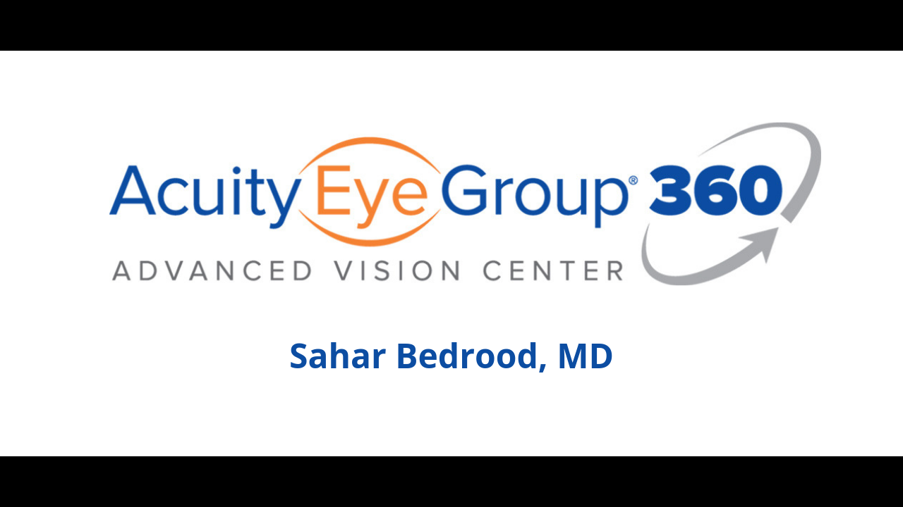 sahar bedrood acuity 360