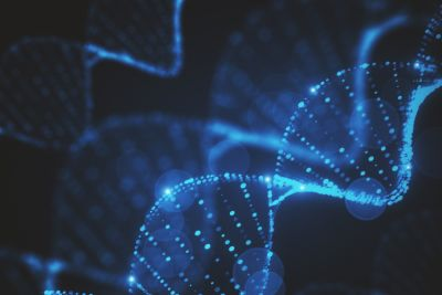 stock photo of dna helix
