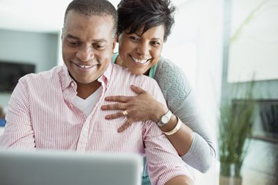 couple researching diabetes